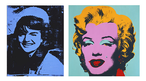 High contrast portriaits mrs ras 39 s art class for Andy warhol famous works